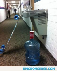 College Water Jug Trick