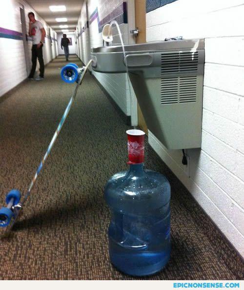 College Water Jug Trick