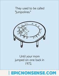 Trampoline Joke