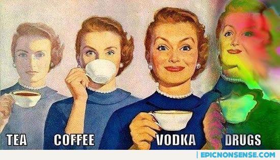 Tea is boring!