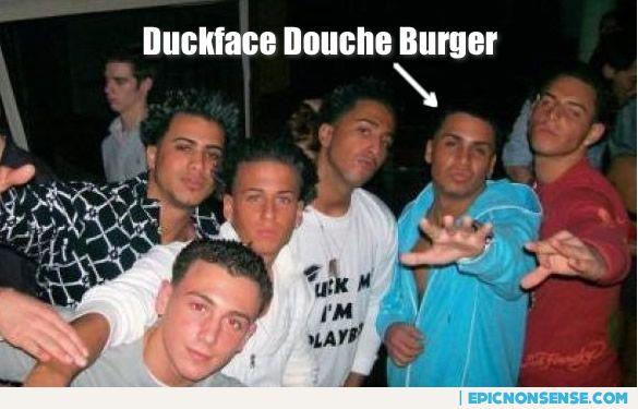 Duckface Douche