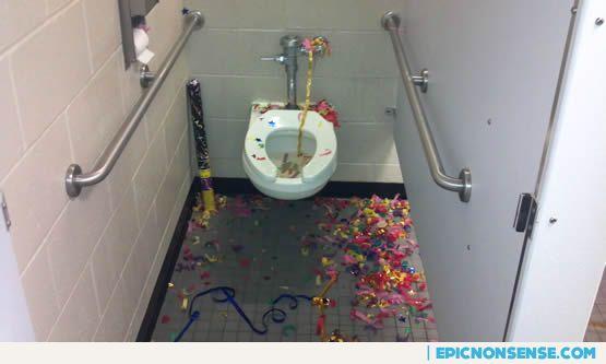 Epic Bathroom Bash