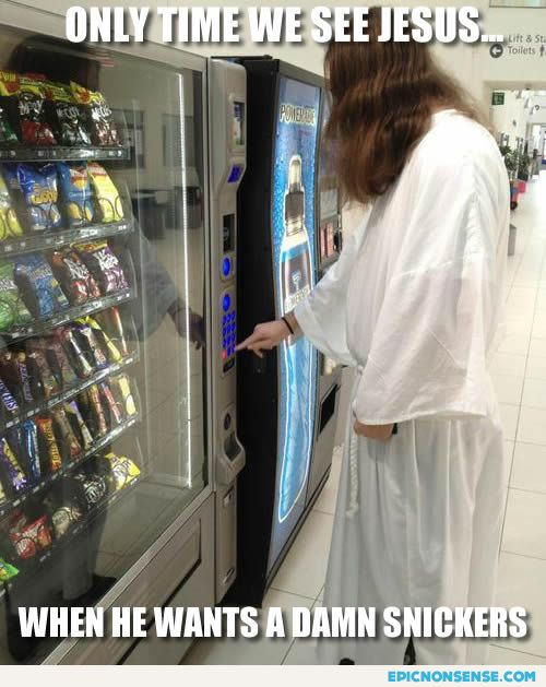 Jesus Likes Candy
