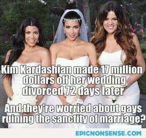 Kardashian Gay Marriage