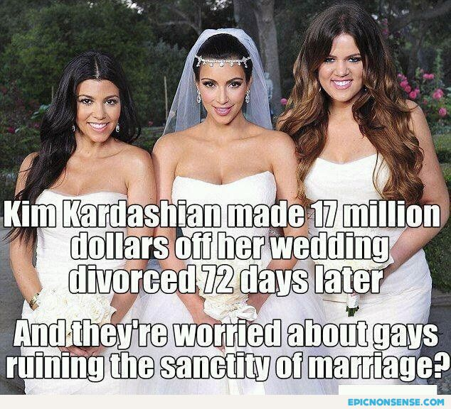 Kardashian Gay Marriage