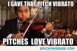 Pitches Love Vibrato