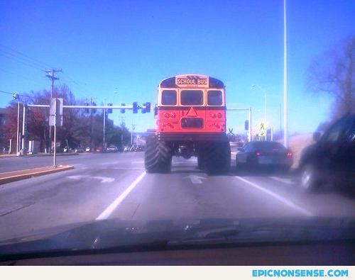 Redneck School Bus