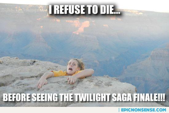 Twilight Breaking Dawn Finale