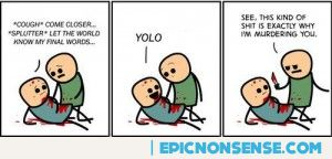 Yolo Comic Strip