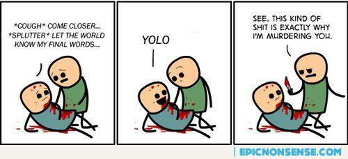Yolo Comic Strip