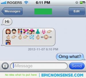 birds and the bees text message