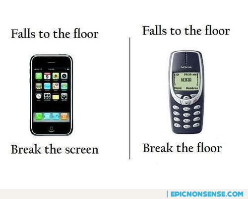iPhone vs. Nokia