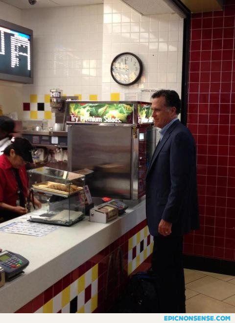 Romney-at-fast-food-restaurant