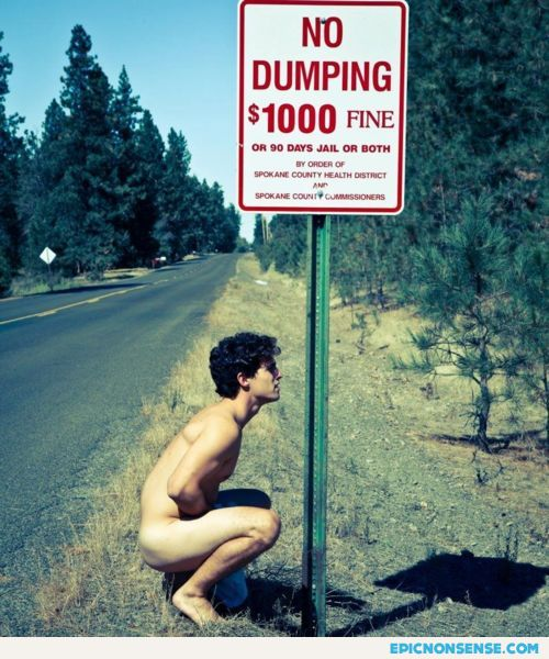 no dumping en