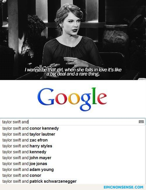 Taylor Swift Track Record