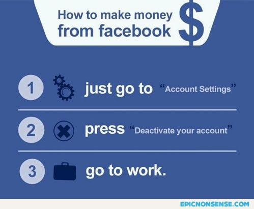 Get rich with Facebook
