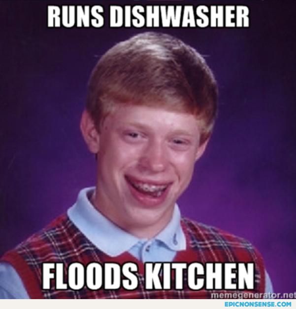 Runs dishwasher