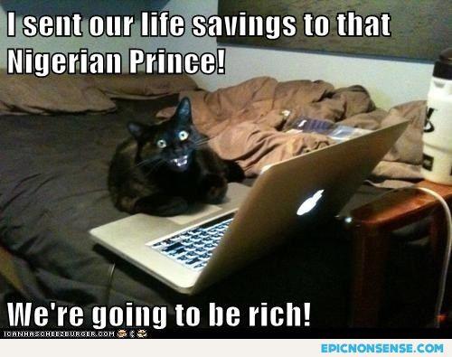 Prince Of Nigeria Scam