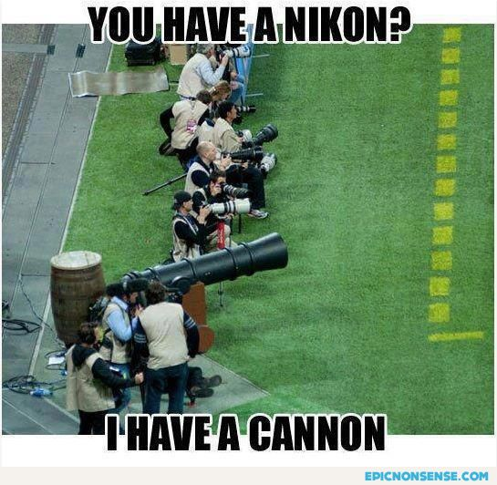 He Has A Cannon