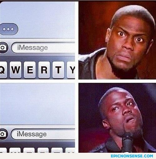 Typing A Message