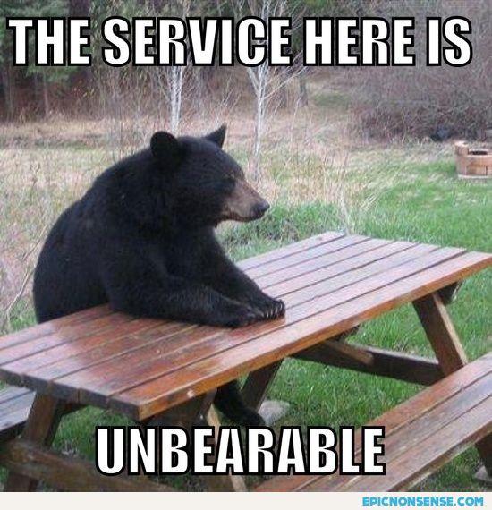 Unbearable