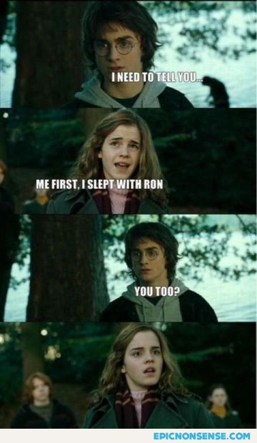 I Slept With Ron First