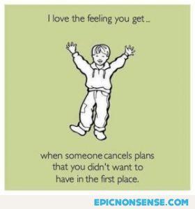 Plan Canceled