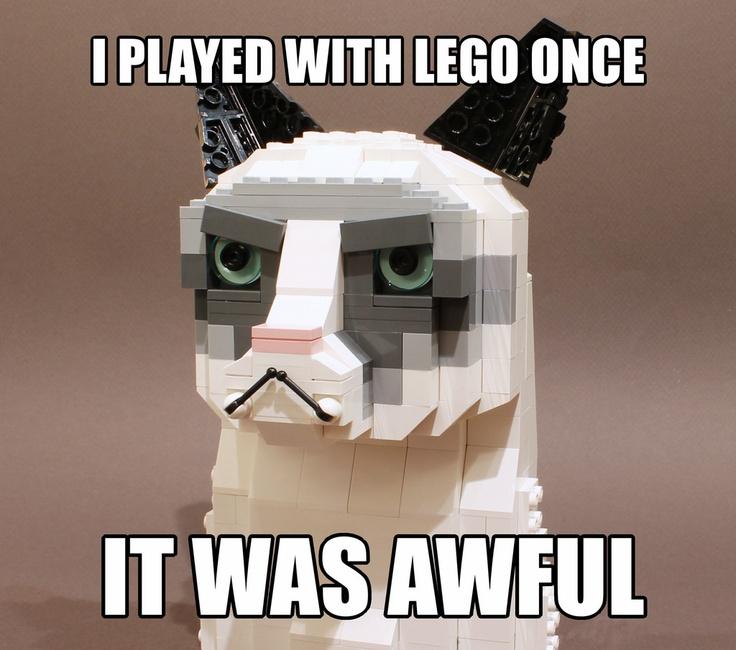 Lego Grumpy Cat