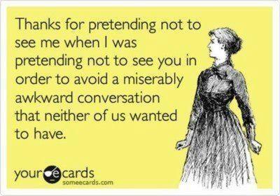 Avoiding Awkward Conversations