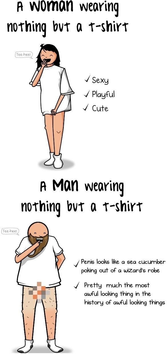 Nothing But A T-Shirt